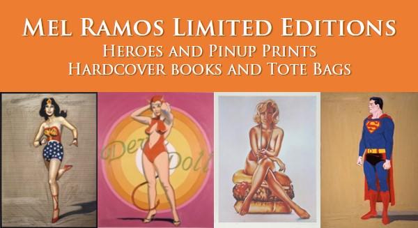 Mel Ramos Limited Editions Box 1